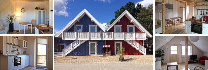 Ferienhäuser im Schwedenstil