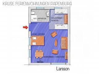 Larsson - Grundriss