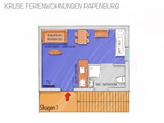 Skagen-1 - Grundriss