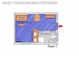 Skagen-2 - Grundriss