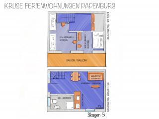 Skagen-3 - Grundriss