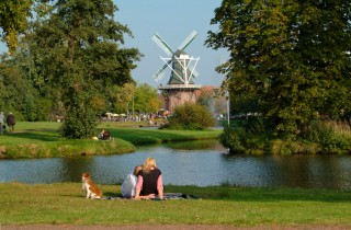 Meyers Mühle am Stadtpark